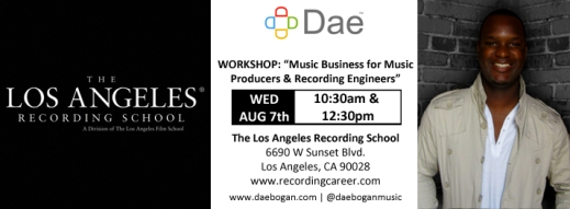 080713 - Teaching at The Los Angeles Recording School