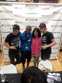 EC Twins with Vlado Footwear Owner (Jill Kim) and Finish Line Store Manager