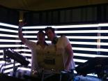 Spinning at Red Bull Energy Oasis tent at Coachella