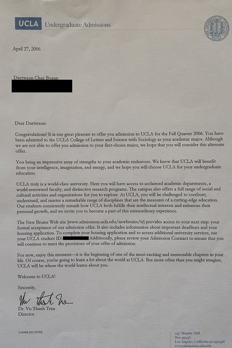 when do uc acceptance letters come looking back 10 years of los angeles dae bogan 45313
