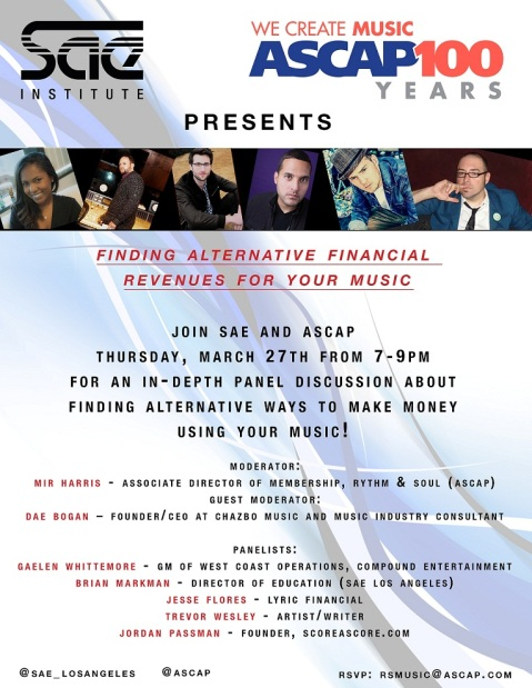 ascap and sae event