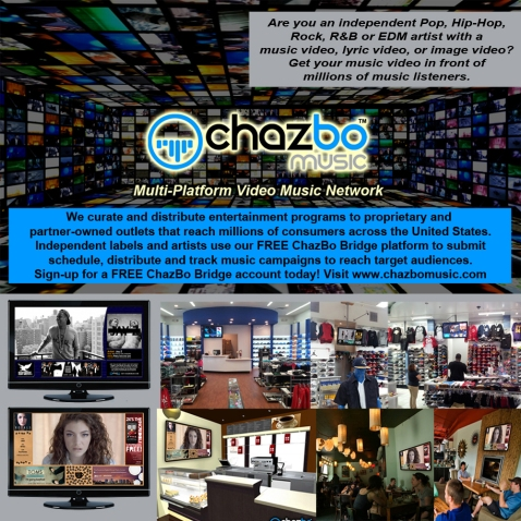 ChazBo Music March 2014 Flyer1