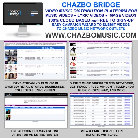 ChazBo Music March 2014 Flyer2