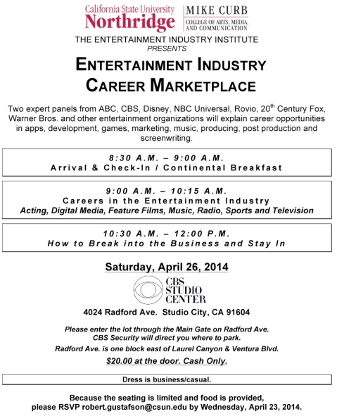 Microsoft Word - Career Marketplace Flier 4-26-14.doc