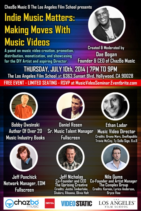 Indie Music Matters - Making Moves With Music Videos Seminar