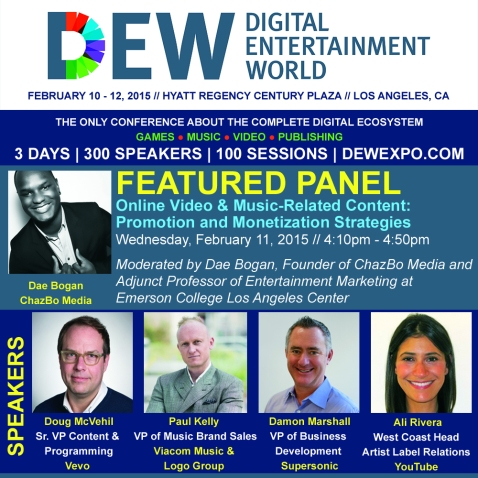 DEW Online Video Panel