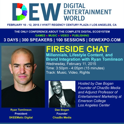 DEW Fireside Chat with Ryan Tomlinson