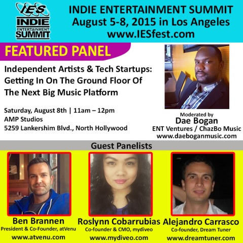 Indie Entertainment Summit Flyer