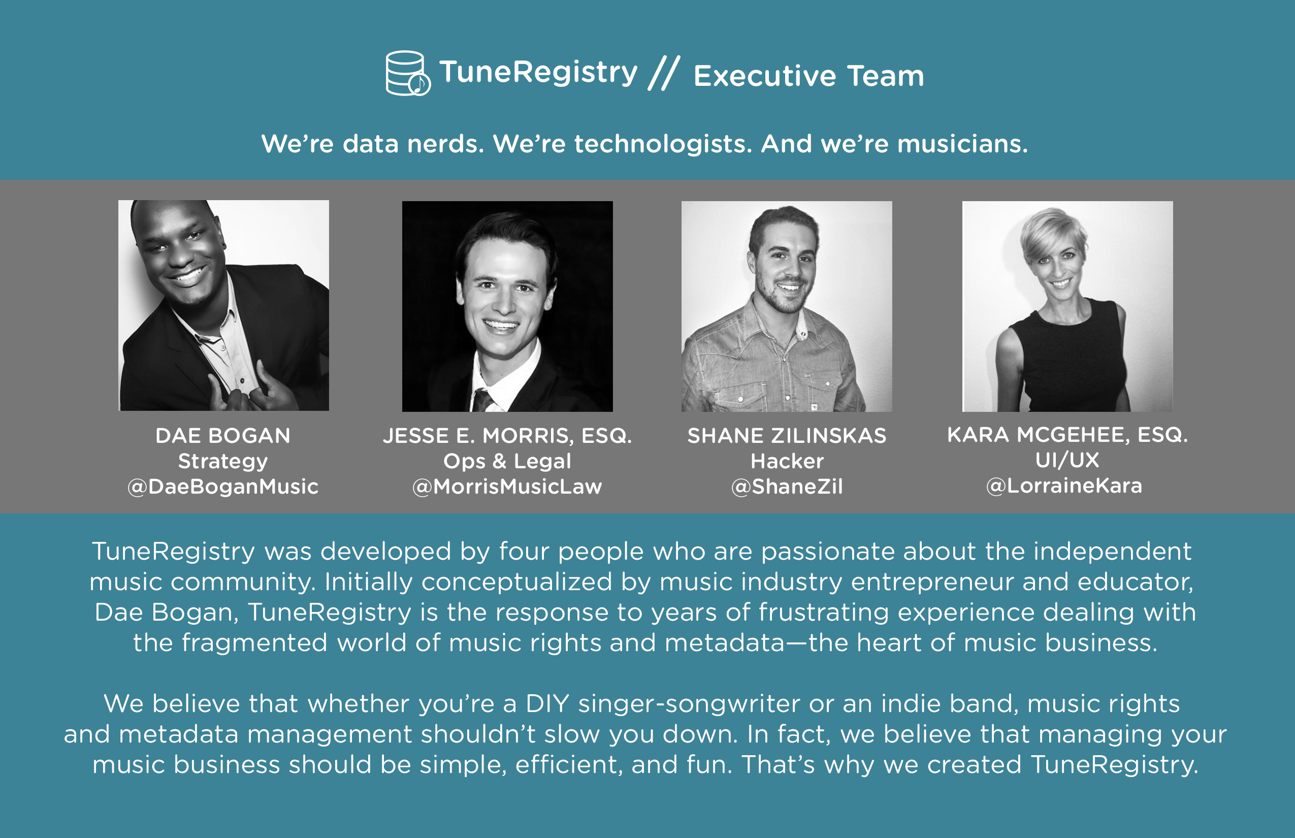 About TuneRegistry 3