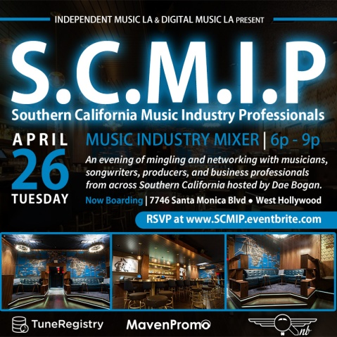 SCMIP Music Industry Mixer