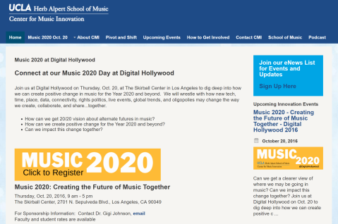 ucla music 2020