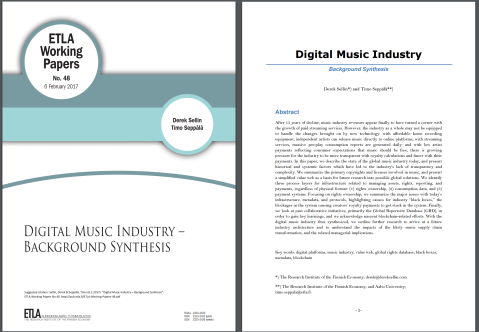 music industry thesis