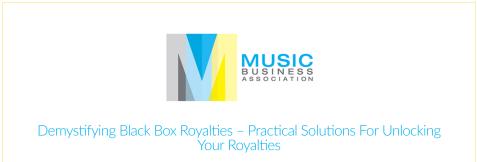 music business association
