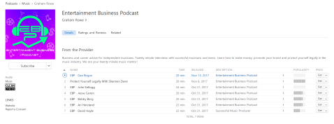 dae bogan podcast entertainment business