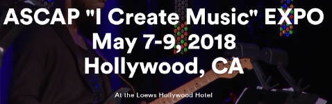 ASCAP I Create Music Expo 2018