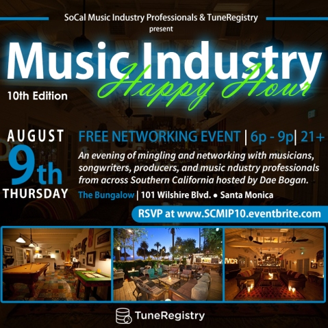 SCMIP Music Industry Happy Hour