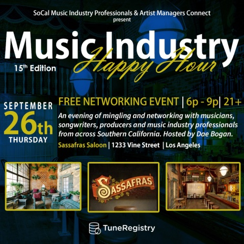 SCMIP Music Industry Happy Hour 15